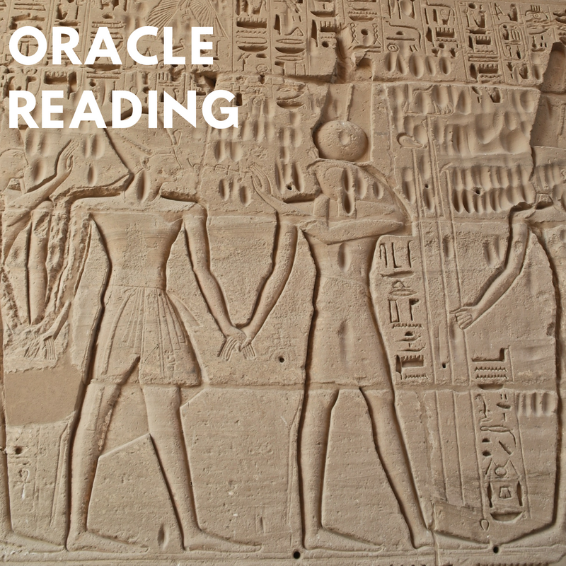 Image of Cartouche Oracle Reading