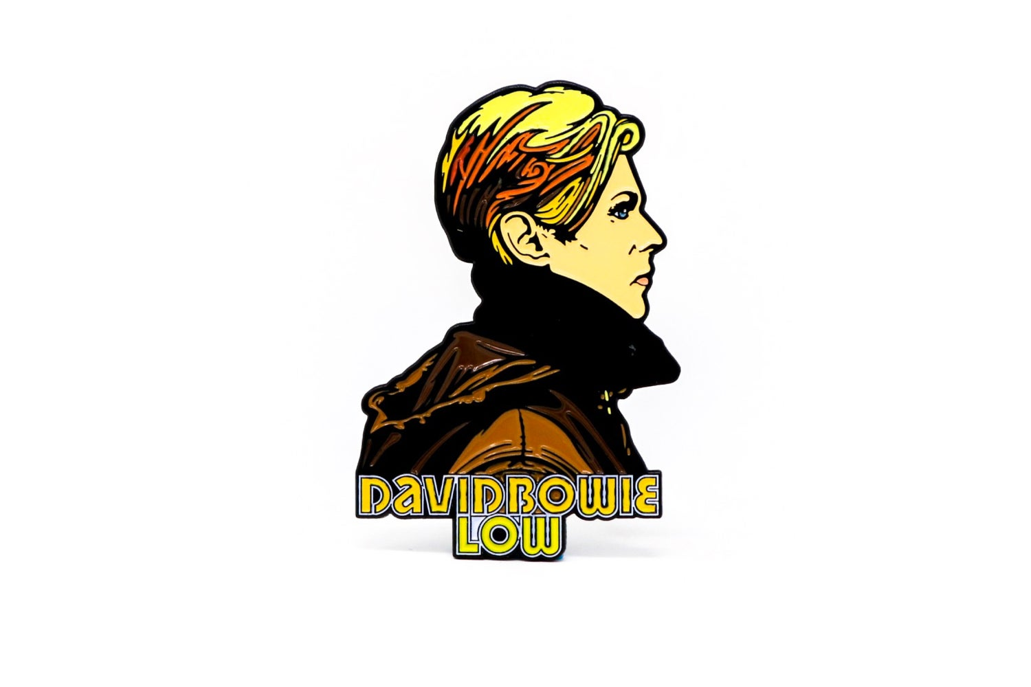 Image of David Bowie 'Low' Enamel Pin