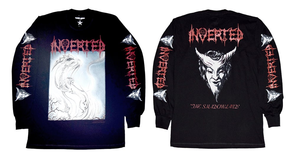 INVERTED the shadow land  official T-shirt and long sleeves