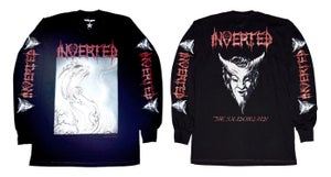 Image of INVERTED the shadow land  official T-shirt and long sleeves