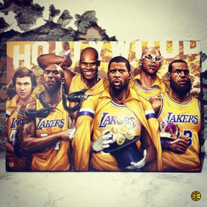 "Image of ""LAKESHOW"" CANVAS"