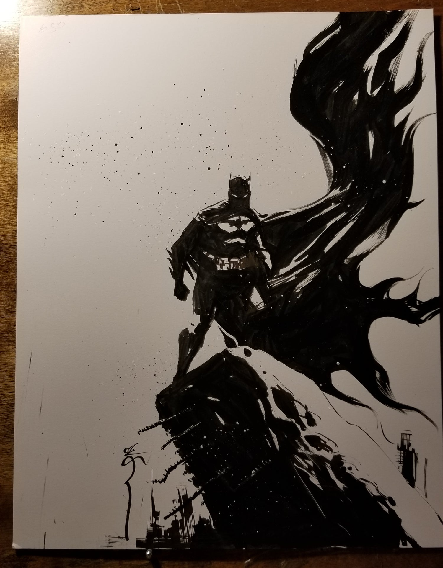 Image of Batman with the good cape