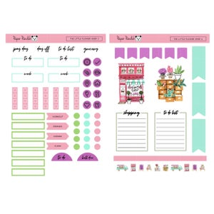 Image of The Little Flower Shop Sticker Kit