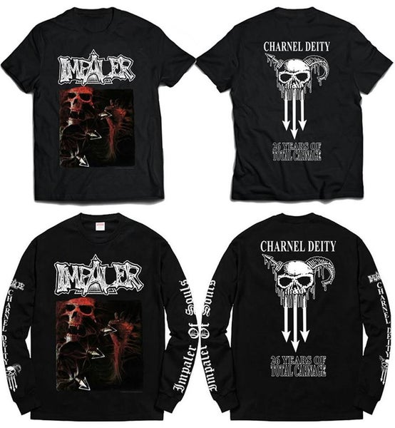 Image of IMPALER charnel deity official tshirt and long sleeves
