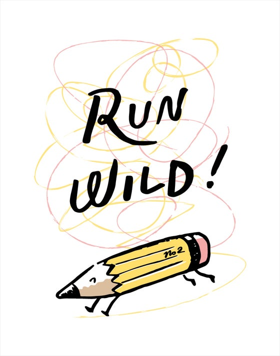 Image of Run Wild 11x14 print