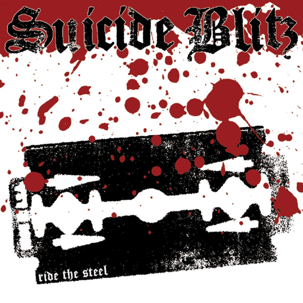 Image of Suicide Blitz - Ride The Steel LP
