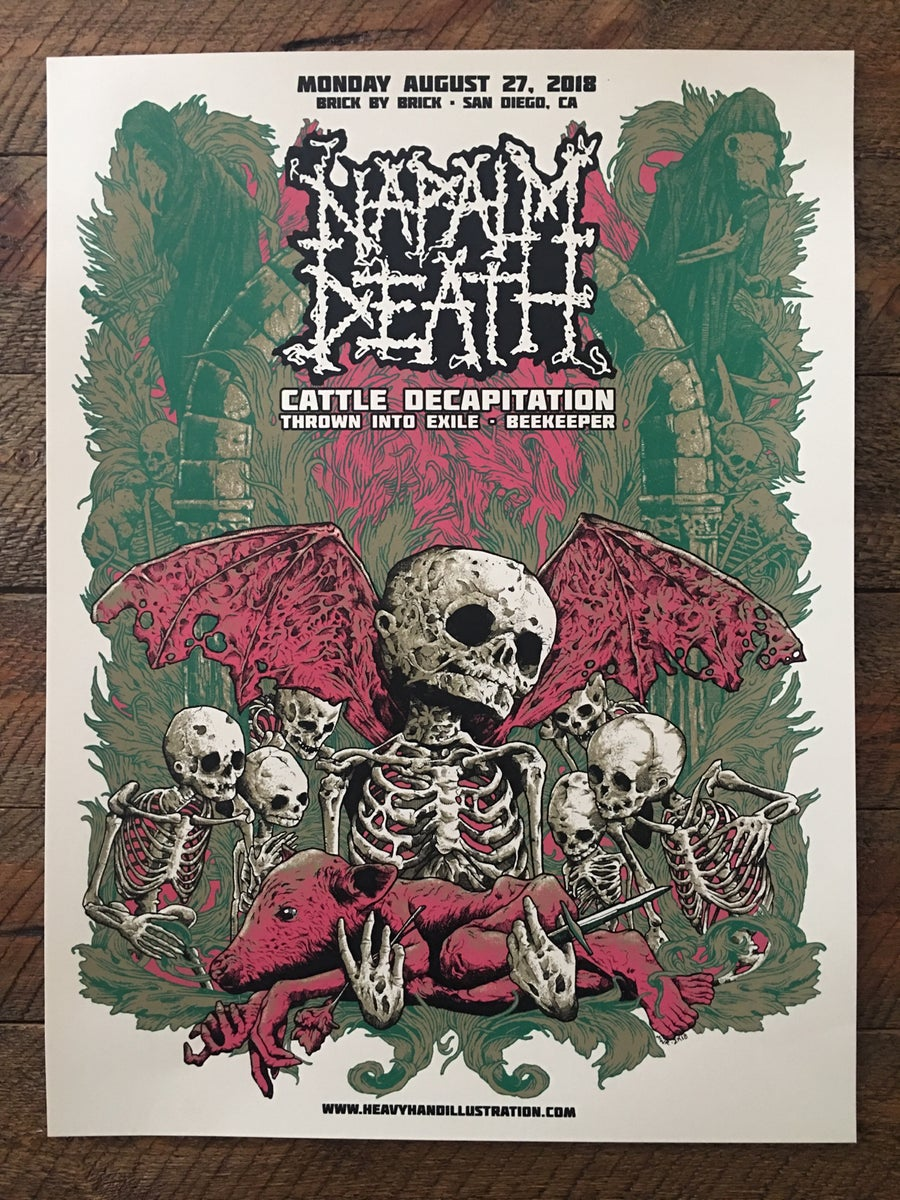 Image of Napalm Death Poster