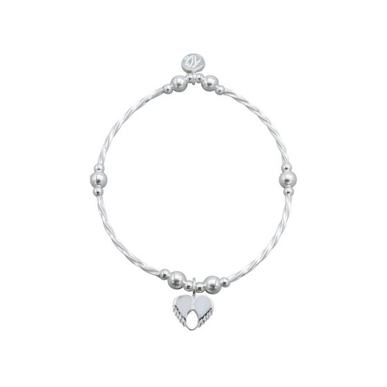 Image of NEW Strength Dainty Love Tube Bead Bracelet