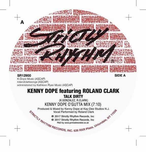 Image of Kenny Dope & Roland Clark - Talk Dirty SR12900