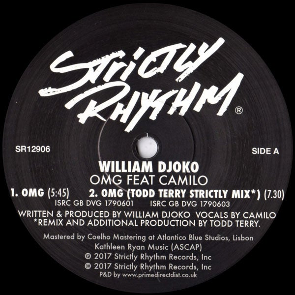 Image of William Djoko - OMG feat Camilo SR12906