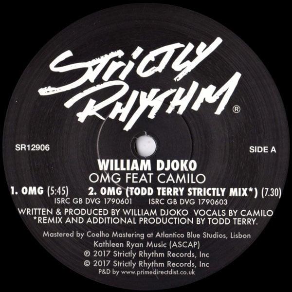Image of William Djoko - OMG feat Camilo SR12906