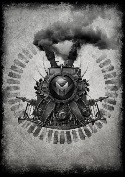 Image of LOCOMOTIVE ART PRINT A3 | SIGNED, NUMBERED LTD ED. OF 100
