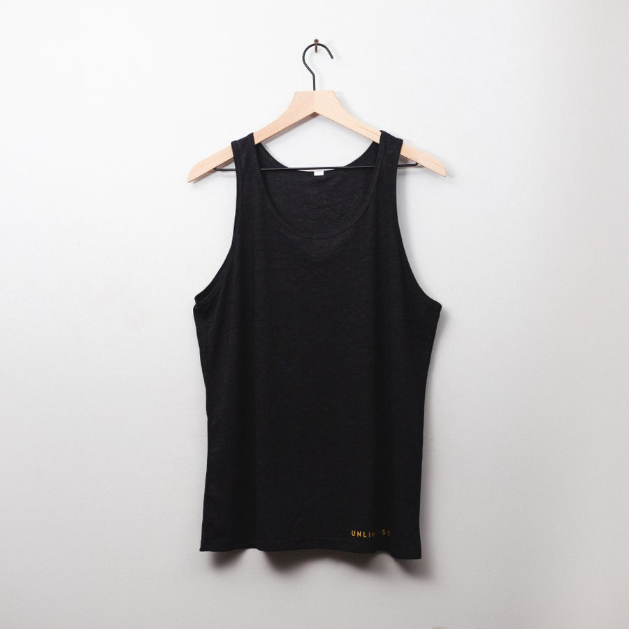 Image of Lion Soul Tank Top (Black)