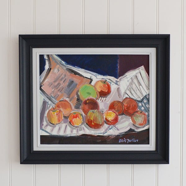 Image of Swedish, 'Still life with Apples,' Erik Julius Svensson (1920 - 1995)