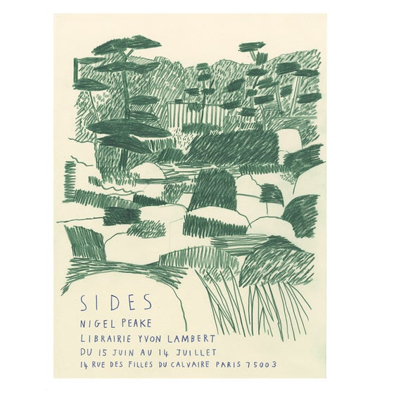 Image of SIDES EXHIBITION POSTER