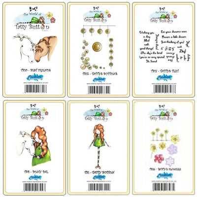 Image of Tatty Button Bandle Pack