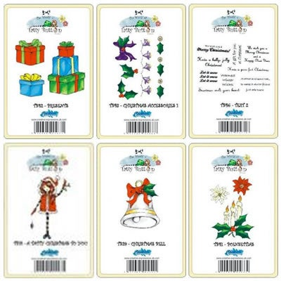 Image of Tatty Button's Christmas Bundle Pack 1