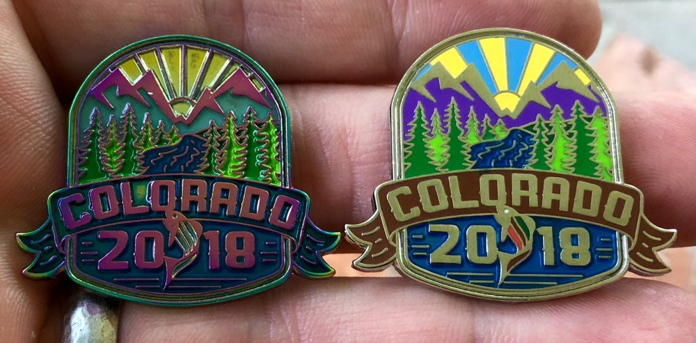 Image of Colorado 2018 pins