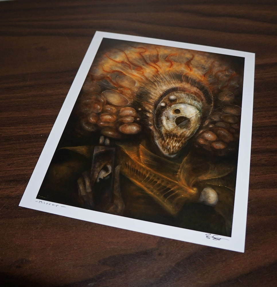 Image of - Mirror - signed archival print