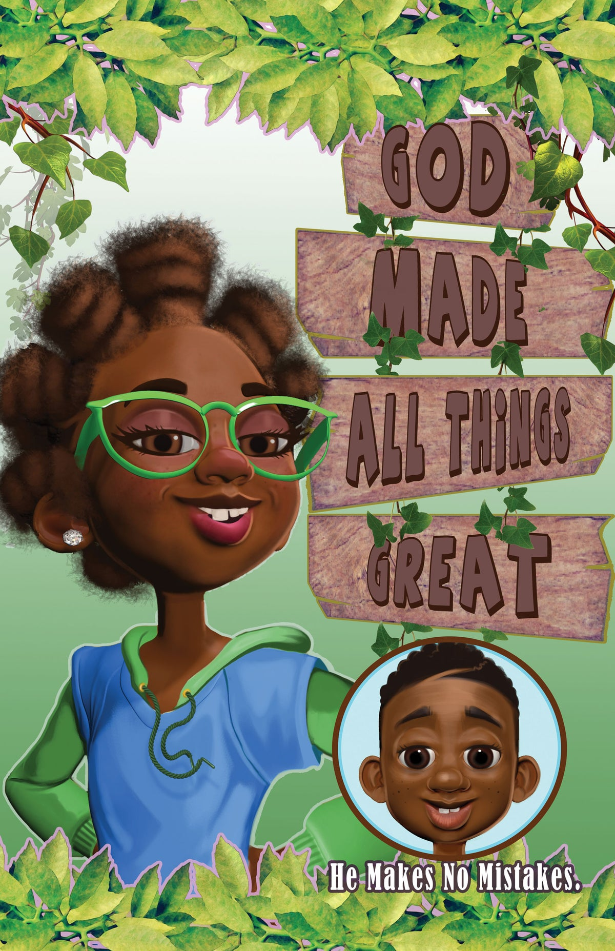 Image of God Made All Things Great Poster for Girls