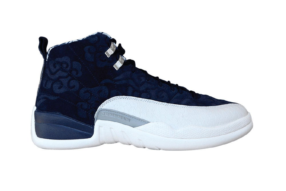 Image of Air Jordan 12 Retro 'International Flight' Premium BV8016-445
