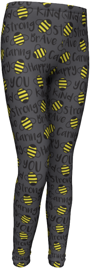 Image of BEE YOU CAPRI Legging