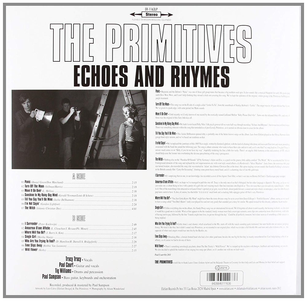 Image of Echoes & Rhymes - vinyl album