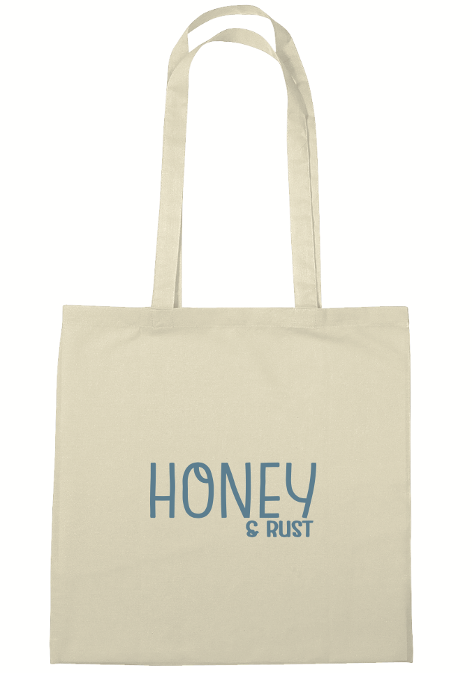 Image of Honey & Rust Canvas Tote