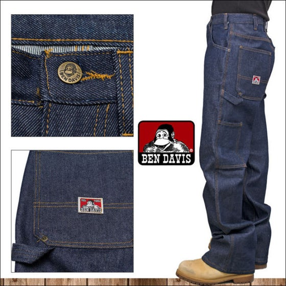 Image of Ben Davis Carpenter OG Denim Jeans