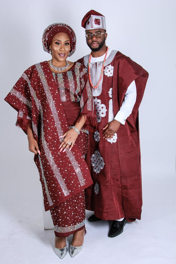 Image of Supreme Aso oke Set