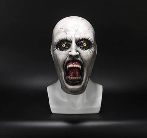 Image of The Nun Full Head Mask Cosplay Costume Conjuring Valak Horror Prop Vers 3
