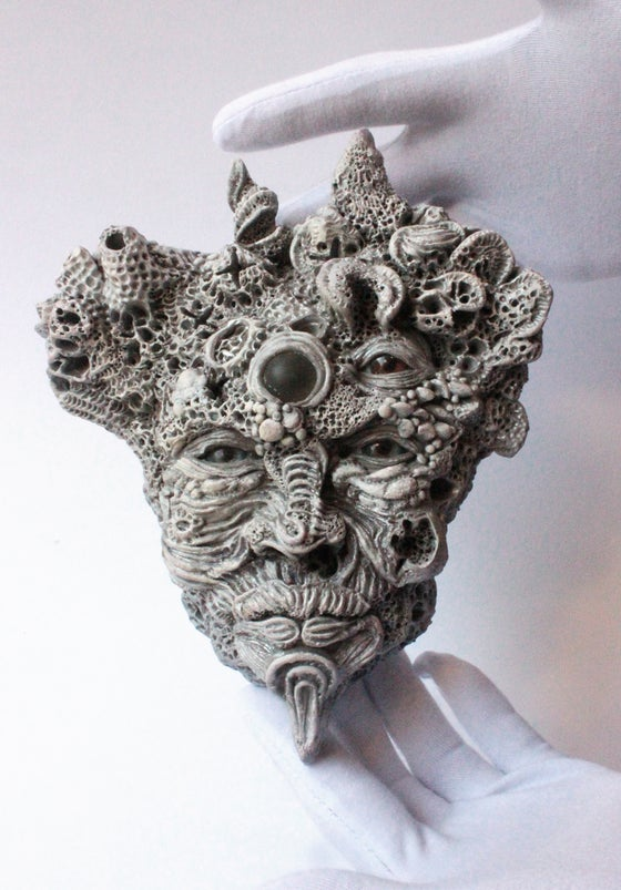 Image of Boulder brain original sculpture
