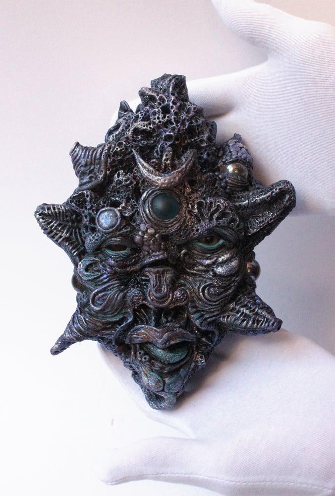 Image of Meteor head original sculpture