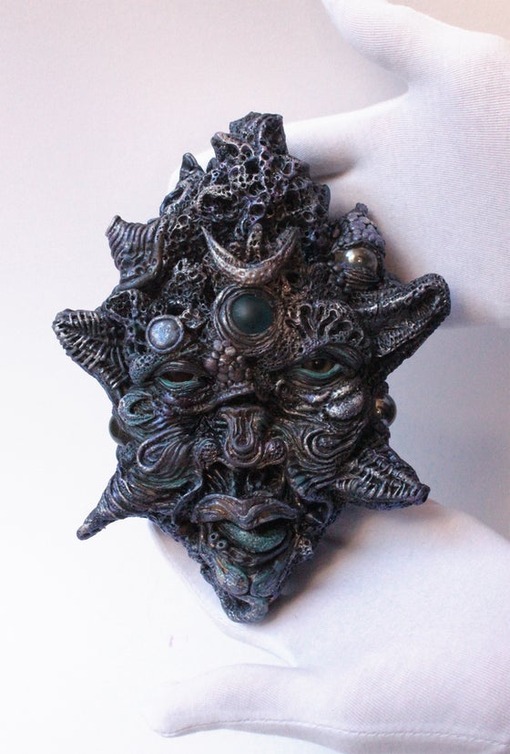 Image of Meteor head original sculpture