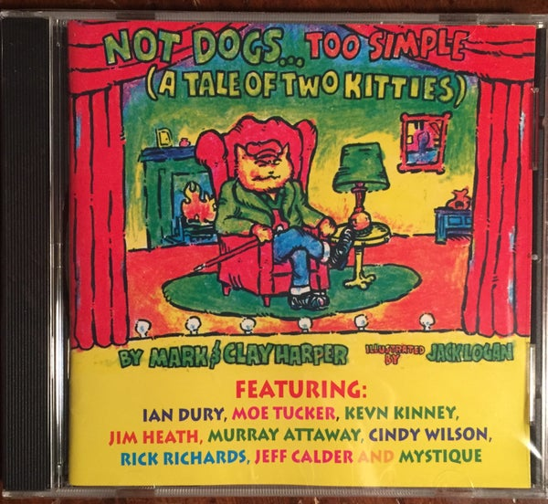 Image of Children's album featuring Kevn Kinney.  CD