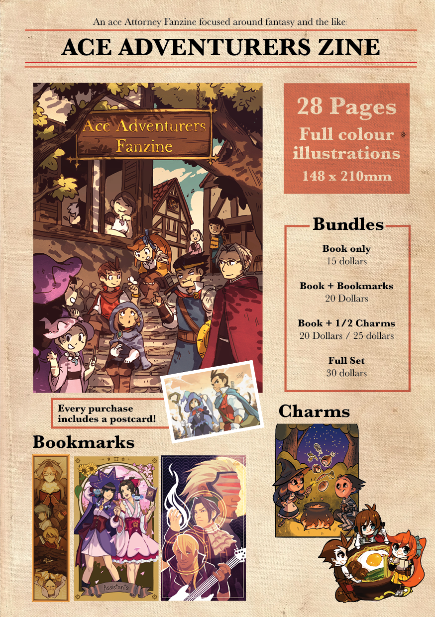 Image of [Preorder] Ace Adventurer Zine