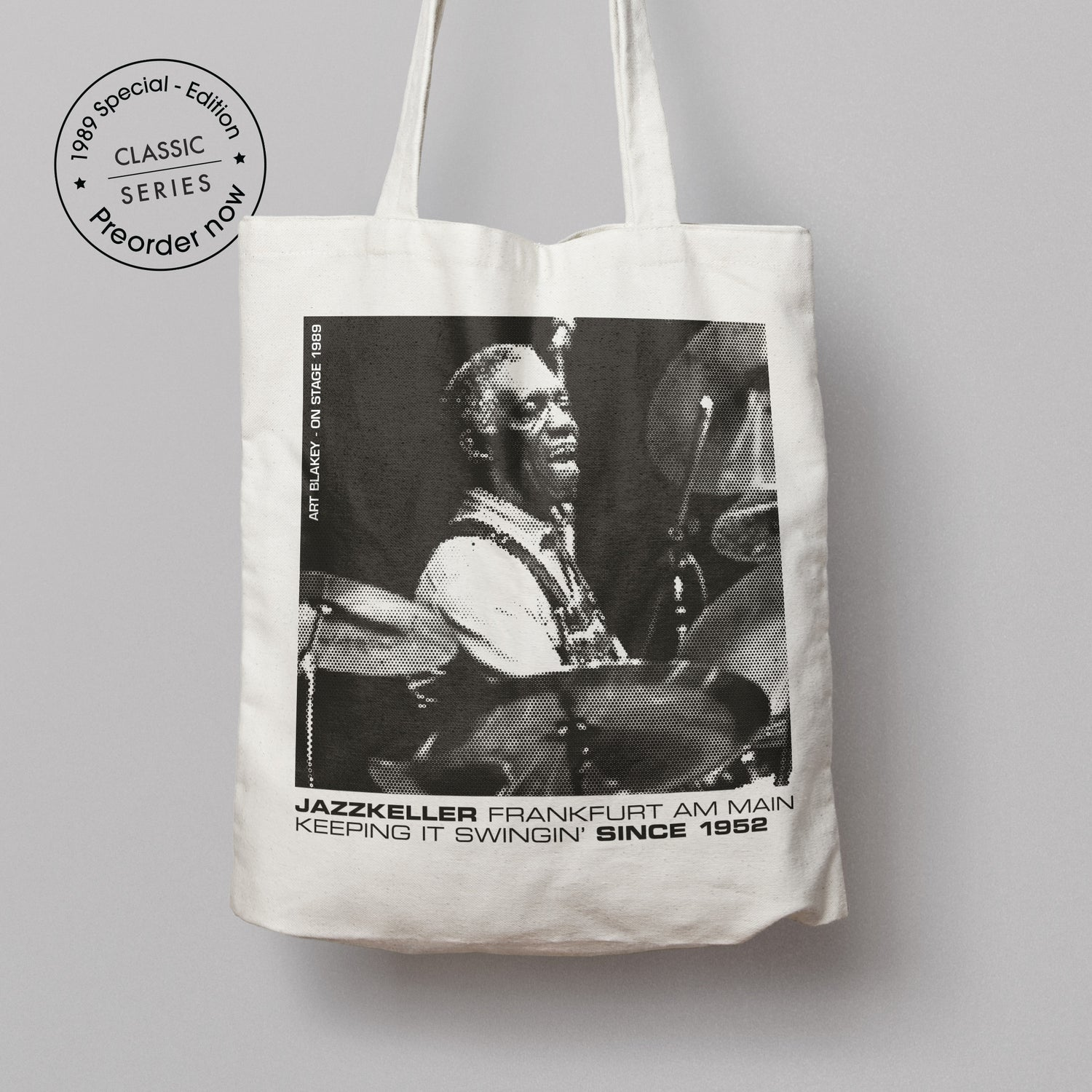Image of NEW! 1989 Special-Edition Jutebeutel/tote bag