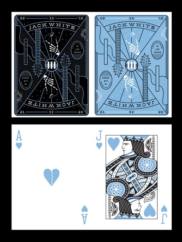 "Image of ""Uncut"" Jack White, Las Vegas 2018"