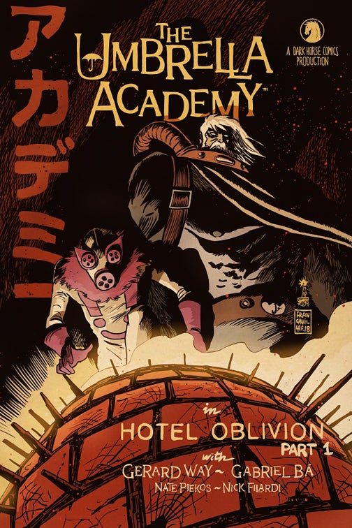 Image of Umbrella Academy Hotel Oblivion #1 Francesco Francavilla Exclusive Variant