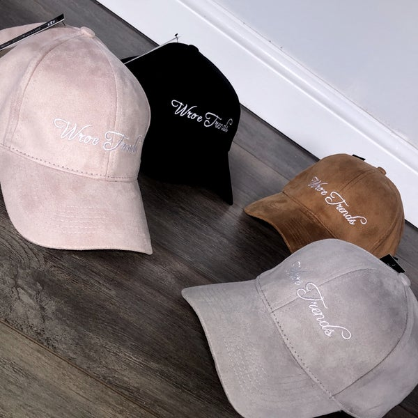 Image of SUEDE CAPS