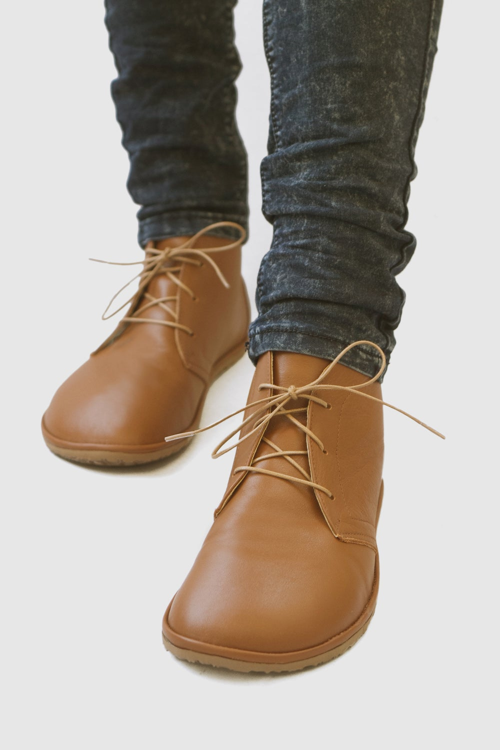 Image of Leona boots in Sepia Brown