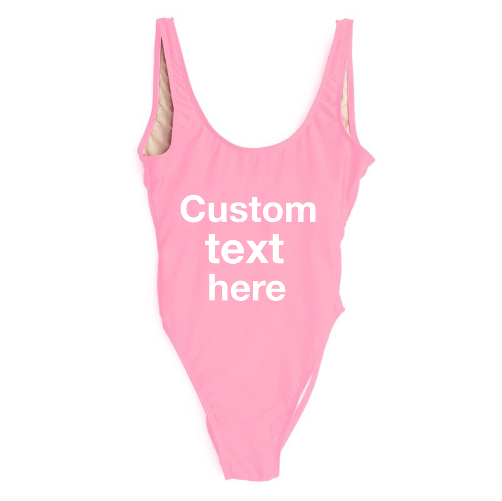 Image of Custom design  (13 colors available). Select font text and colors