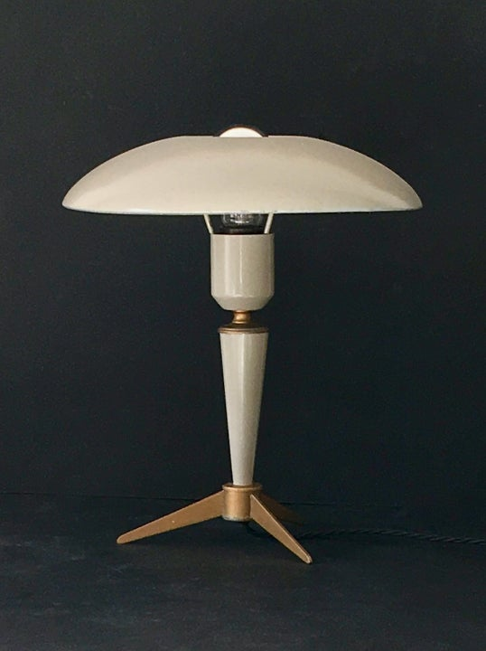 Image of Mid-Century Lamp with Tripod Base by Louis Kalff for Philips