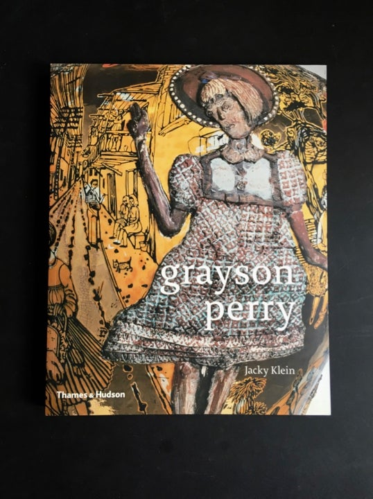 "Image of ""Grayson Perry"" Book by Jacky Klein, Signed by the Artist"