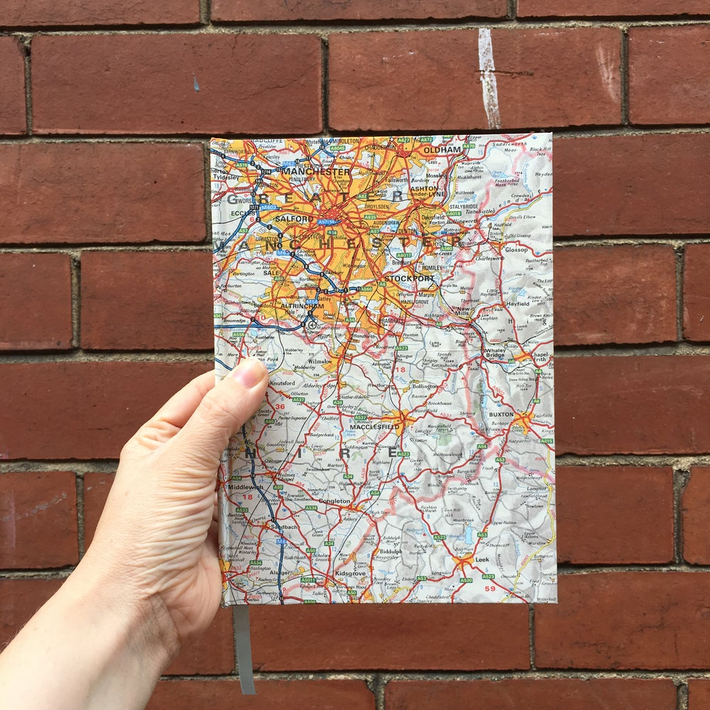 Image of A5 map notebook