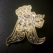 """Image of Oakland """"Native"""" Heritage pin"""