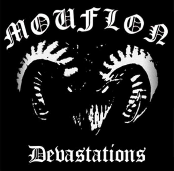 Image of Mouflon-Devastations LP (with exclusive bonus track+A2 poster)