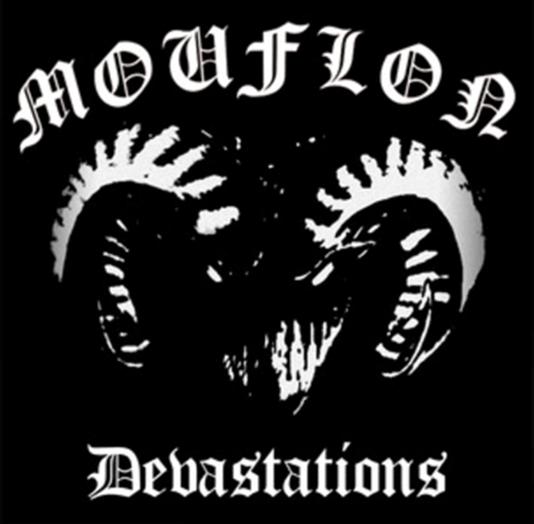 Image of Mouflon-Devastations LP (with exclusive bonus track+A2 poster)