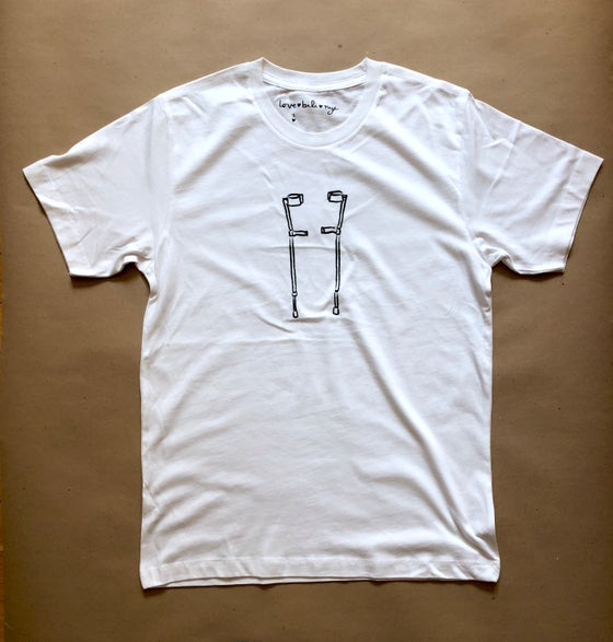 Image of sticks shirt (white)