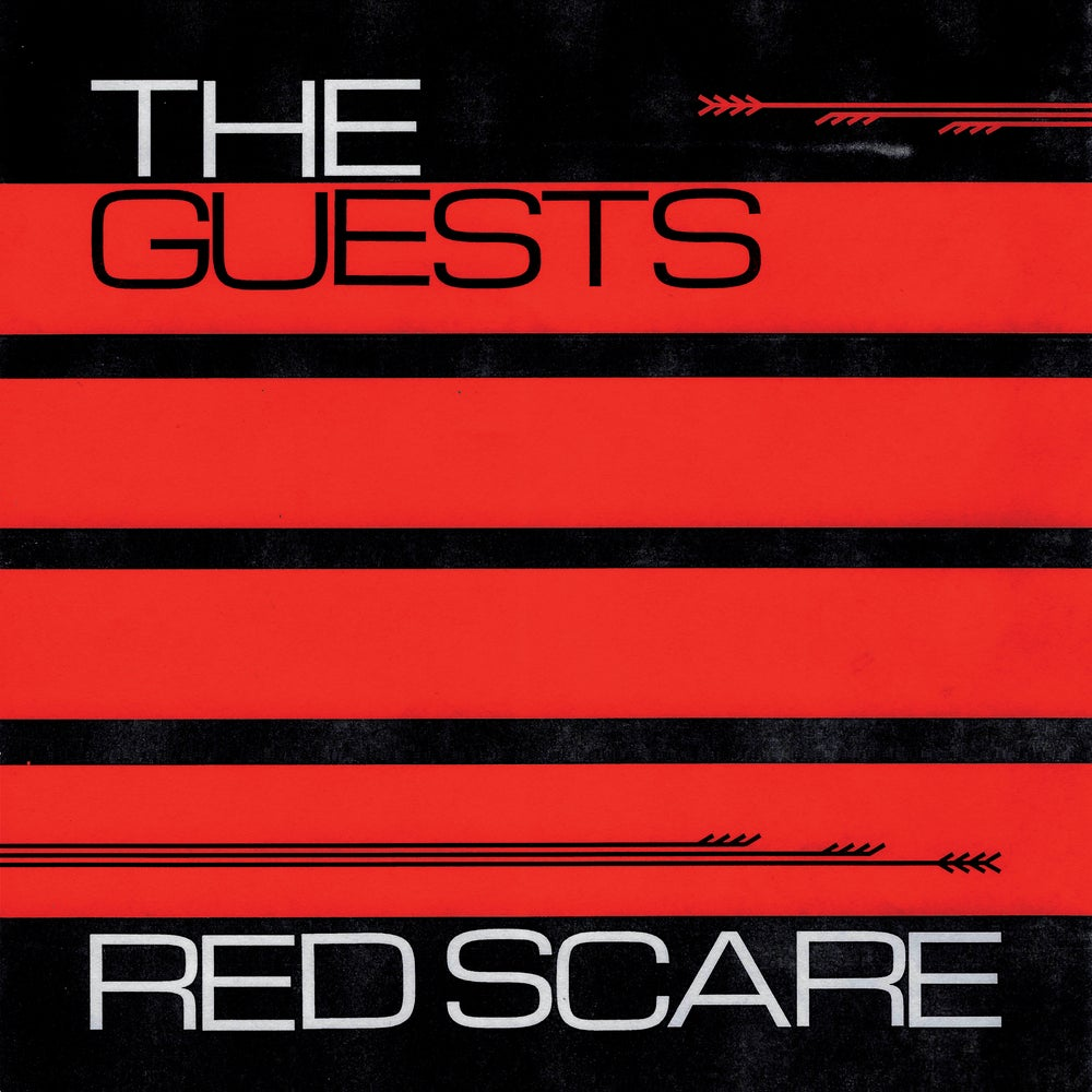 "Image of THE GUESTS ""RED SCARE"" 12"""